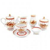 Чайный сервиз «Золотой букетик»